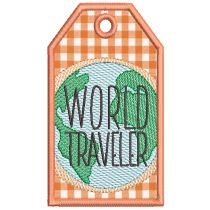 In The Hoop Travel Tags