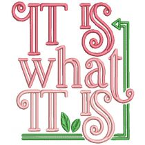 Just Relax Word Art 1 Machine Embroidery Designs by JuJu