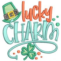Lucky Charm Word Art