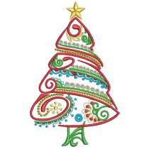 Mehndi Christmas Machine Embroidery Designs by JuJu