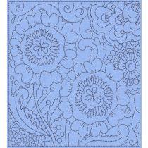 Mehndi Quilt Blocks 3 Digital Machine Embroidery Designs by JuJu