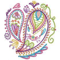 Paisley Doodles 1