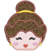 Princess Peekers Applique 1