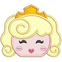 Princess Peekers Applique 2