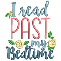 Reading Word Art Set 2 Reading Pillow Machine Embroidery Designs by JuJu