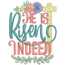 Religious Easter Word Art