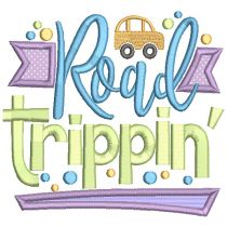Road Trip Word Art