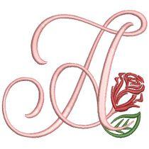 Rosebud Monogram