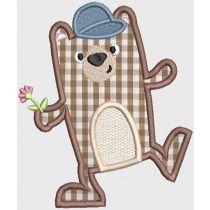 Silly Chubby Animals Digital Machine Embroidery Designs by JuJu