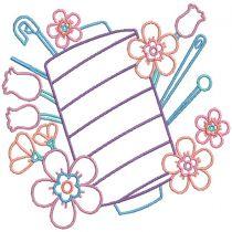 Simply Sewing 2 Digital Machine Embroidery Designs by JuJu
