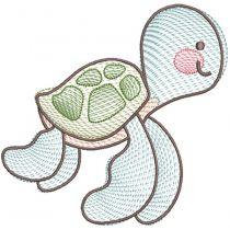 Sketch Sea Life Friends
