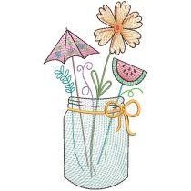 Sketch Seasons Mason Jars