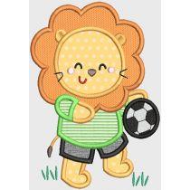 Soccer Animals Applique