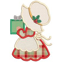 Sunbonnet Sue Returns Christmas Applique