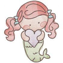 Sweet Mermaids Sketch