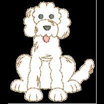 Top Dogs Vintage Stitch Set 2 Machine Embroidery Designs by JuJu