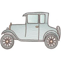 Vintage Sketch Vehicles