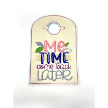 Designs by JuJu In The Hoop Machine Embroidery Designs Doorknob Hangers