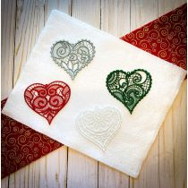 Free Standing Lace Hearts 1
