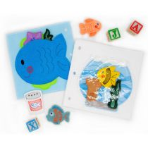 Busy Book Page Fishbowl Deluxe