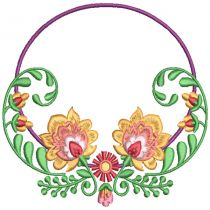Floral Wreath Frames 2
