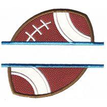 Split Sports Applique Machine Embroidery Designs by JuJu