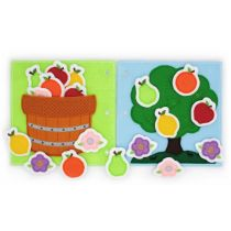 Busy Book Page Fruit Tree Deluxe