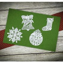 Designs by JuJu Machine Embroidery Christmas Freestanding Lace