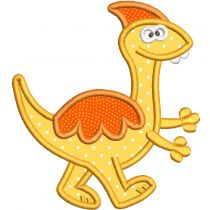 Funky Dinosaurs Applique Machine Embroidery Designs by JuJu