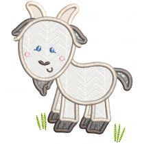 Sweet Farm Applique Machine Embroidery Designs By JuJu