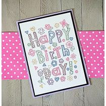 Greeting Cards Set 2 Digital Machine Embroidery Designs by JuJu Exclusive