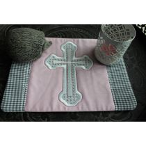Mug Rug Cross Borders 3