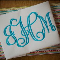 Open Vine Satin Monogram Designs by JuJu Machine Embroidery Designs