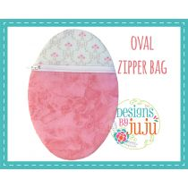 Oval Zipper Pouch