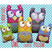 Owl Stuffie Pillow
