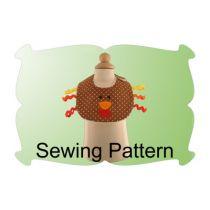 Turkey Baby Bib Sewing Pattern