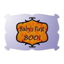 Monogram Haunted Scroll Frame Applique