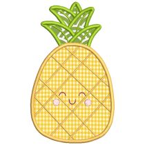 Sweet Summer Applique Pineapple Cactus Watermelon kite Sun pail cherries machine embroidery designs by juju