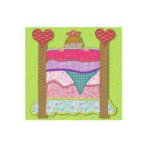 Lil Princess Applique 4x4 hoop