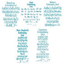 Quarter Inch Font Bundle 3