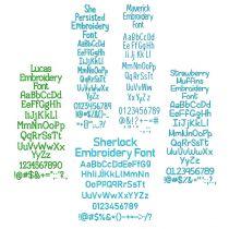 Quarter Inch Font Bundle 10