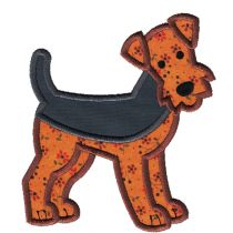Top Dogs Applique Set 5 Machine Embroidery Designs by JuJu