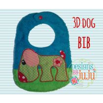 Retro Dog Bib