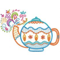 Tea Time Doodles 3
