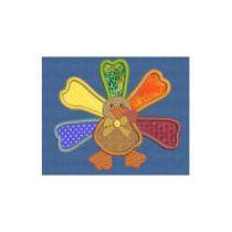 Thanksgiving Applique 5x7