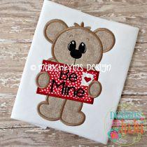 Valentine Letter Bear Boy
