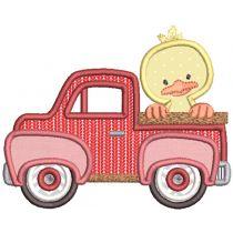 Vintage Truck Farm Animals
