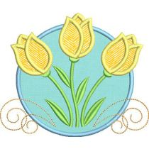 Welcome Spring Applique