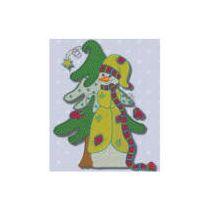 Whimsical Snowmen 5x7