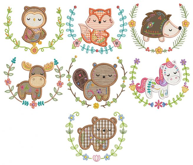 Sweet Animal Laurels 1
